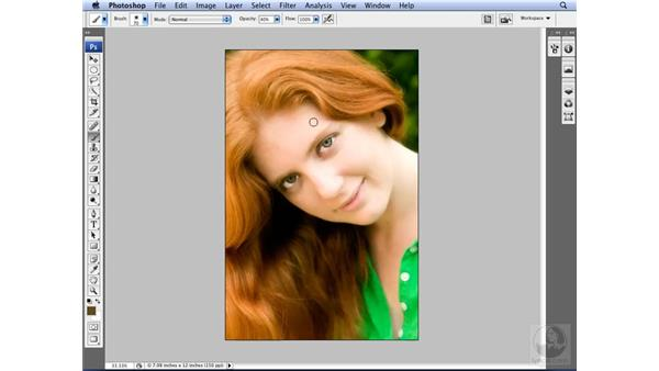 Brush presets: Choosing the right brush for the task: Photoshop CS3 for Designers