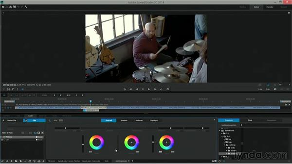 Adjusting and editing Lumetri Looks: Premiere Pro Guru: Lumetri Workflows using SpeedGrade and Direct Link