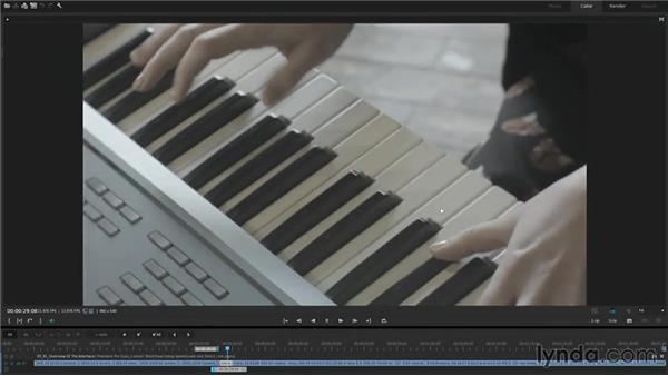 Overview of the interface: Premiere Pro Guru: Lumetri Workflows using SpeedGrade and Direct Link