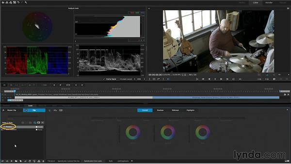 Working with layers: Premiere Pro Guru: Lumetri Workflows using SpeedGrade and Direct Link