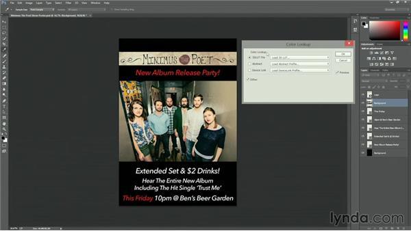 Applying looks in Adobe Photoshop: Premiere Pro Guru: Lumetri Workflows using SpeedGrade and Direct Link
