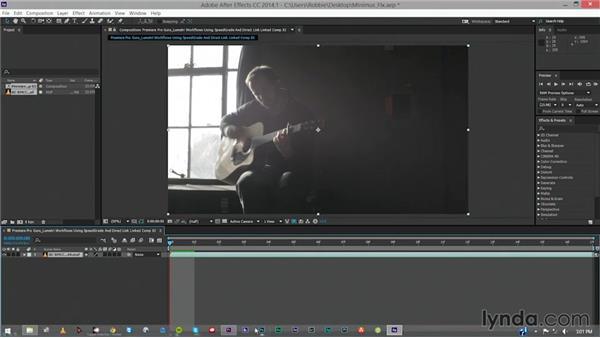 Using looks in Adobe After Effects: Premiere Pro Guru: Lumetri Workflows using SpeedGrade and Direct Link