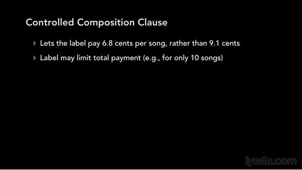 Controlled composition: Music Law: Recording, Management, Rights, and Performance Contracts