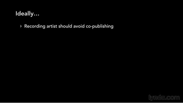 Copublishing: Music Law: Recording, Management, Rights, and Performance Contracts