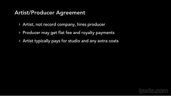 Producer agreements: Music Law: Recording, Management, Rights, and Performance Contracts