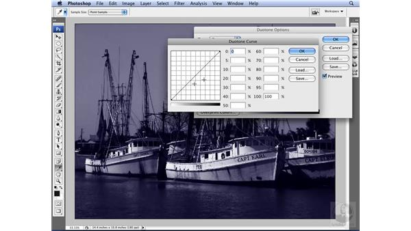 Creating duotones: Photoshop CS3 for Designers