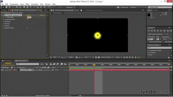 Creating particle sparks: VFX Techniques: Creating a Laser Battle