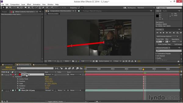 Rolling up a layer: VFX Techniques: Creating a Laser Battle