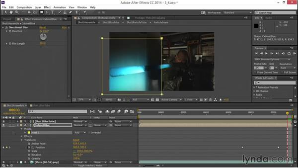 Creating light reflections: VFX Techniques: Creating a Laser Battle