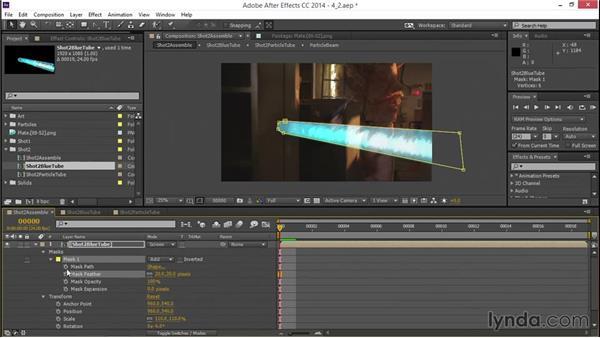 Integrating the second blast: VFX Techniques: Creating a Laser Battle