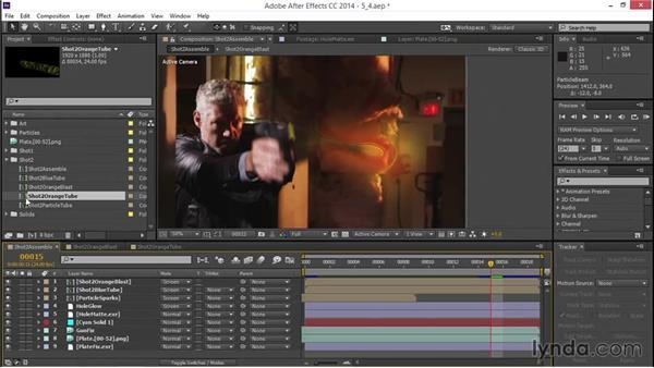 Creating a blast core: VFX Techniques: Creating a Laser Battle