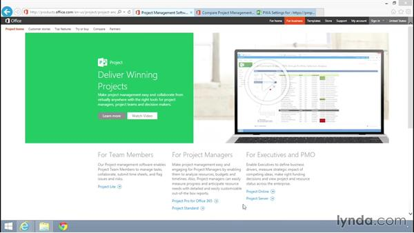 What you should know before watching this course: Microsoft Project Server 2013 Administration