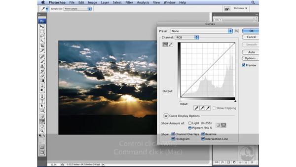 Levels vs. curves: Photoshop CS3 for Designers