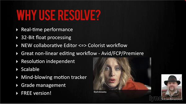 Who uses DaVinci Resolve?: DaVinci Resolve 11 Essential Training