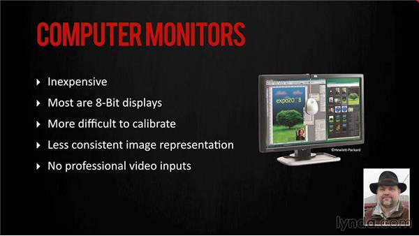 Building a Resolve system: Monitors and calibration: DaVinci Resolve 11 Essential Training