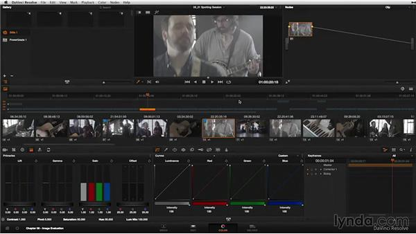 Creative spotting session: Selecting hero shots and timeline filtering: DaVinci Resolve 11 Essential Training