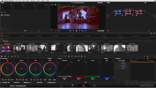 What is a serial node?: DaVinci Resolve 11 Essential Training