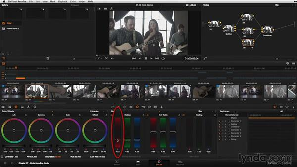 Node macros: The Add Splitter Combiner Node and Add Outside Node commands: DaVinci Resolve 11 Essential Training