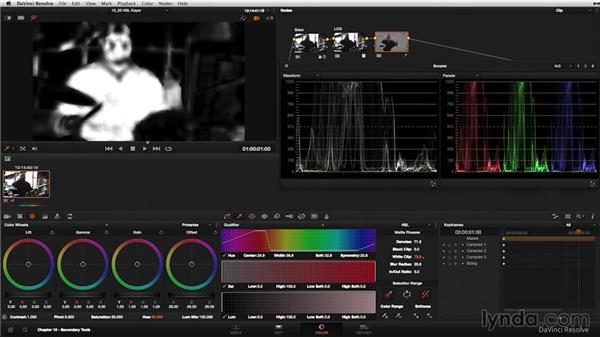 Understanding the Hue, Saturation, Luminance (HSL) keyer: DaVinci Resolve 11 Essential Training