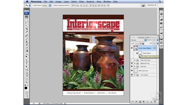 Utilizing Smart Filters: Photoshop CS3 for Designers