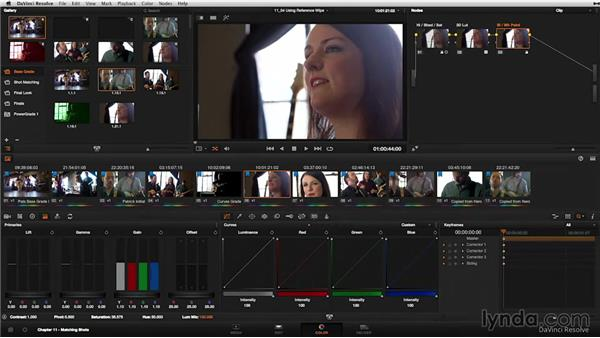 Gallery: The Reference Wipe: DaVinci Resolve 11 Essential Training