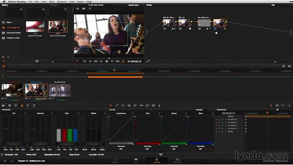 Render cache: User mode: DaVinci Resolve 11 Essential Training
