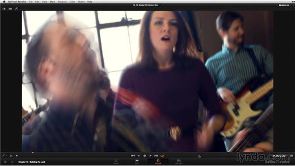 Motion blur and spatial noise reduction: DaVinci Resolve 11 Essential Training