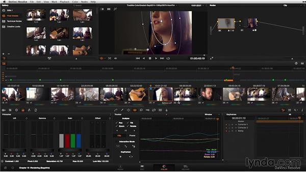 Backing up and archiving: DaVinci Resolve 11 Essential Training