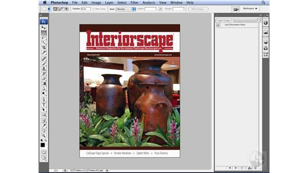 Utilizing layer comps: Photoshop CS3 for Designers