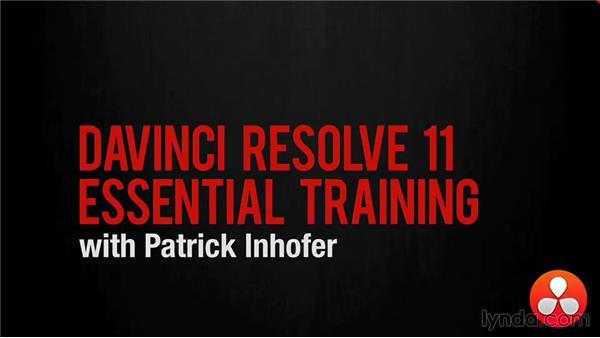 Goodbye: DaVinci Resolve 11 Essential Training