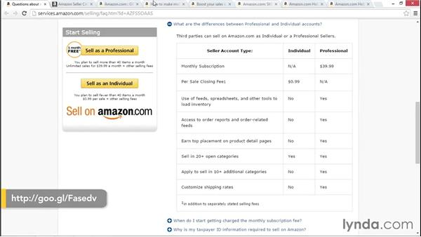 Your Amazon choices: Selling on the Amazon Marketplace