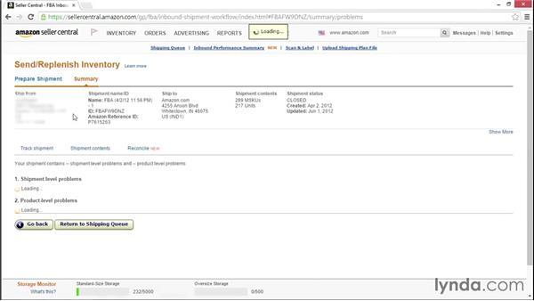 Managing FBA warehouse shipments: Selling on the Amazon Marketplace