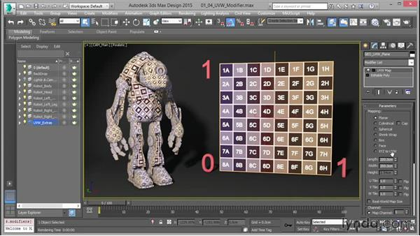 The UVW Map modifier: Part one: Mastering UVW Mapping in 3ds Max