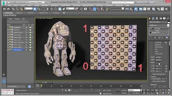 The UVW Map modifier: Part two: Mastering UVW Mapping in 3ds Max