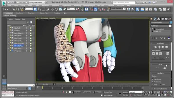 Overview of the Unwrap UVW modifier: Mastering UVW Mapping in 3ds Max