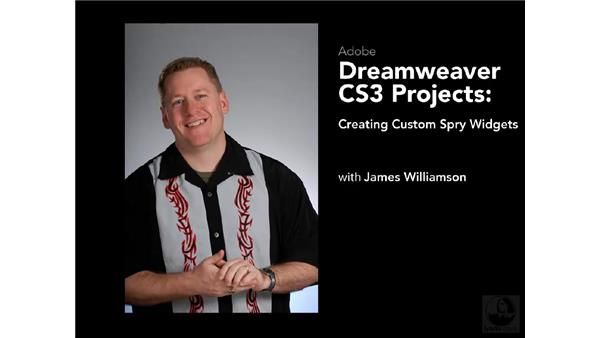 Goodbye: Dreamweaver CS3 Projects: Creating Custom Spry Widgets