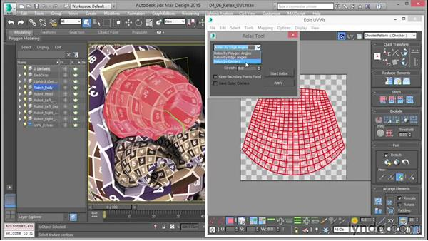 Relaxing UVs: Mastering UVW Mapping in 3ds Max