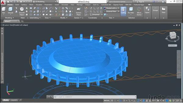 Using Booleans on 2D regions: 3D Surface Model Design with AutoCAD