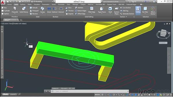 Using the Dynamic User Coordinate System: 3D Surface Model Design with AutoCAD