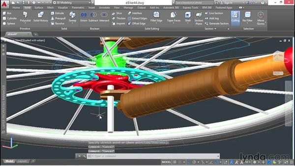 Copying objects and adjusting positions: 3D Surface Model Design with AutoCAD