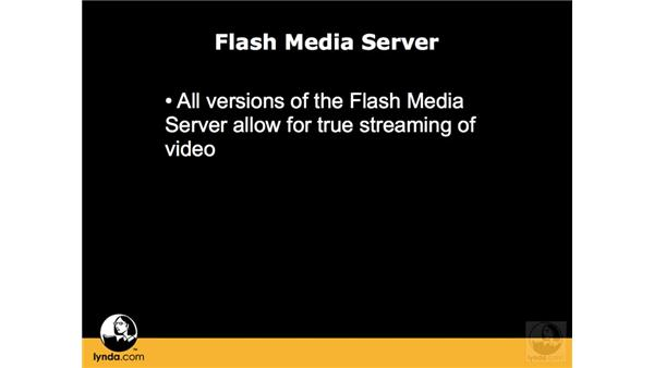 When to use Flash Media Server: Flash CS3 Interactive Video Techniques
