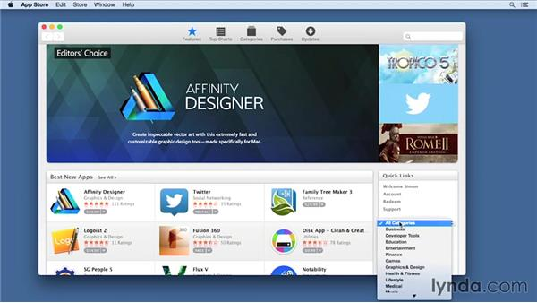 Installing Xcode and the iOS SDK: iOS 8 App Development with Swift 1 Essential Training