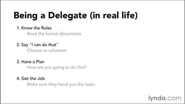 Exploring delegation: iOS 8 App Development with Swift 1 Essential Training