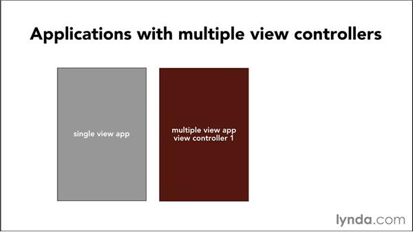 Introduction to multiple-view applications: iOS 8 App Development with Swift 1 Essential Training