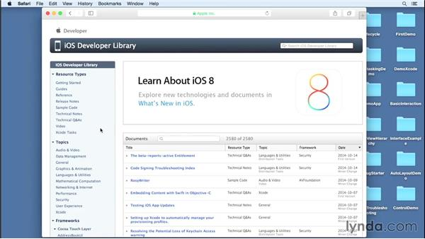 Conclusion: iOS 8 App Development with Swift 1 Essential Training