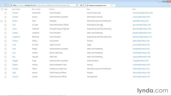Welcome: SharePoint Designer 2013: Creating Data-Driven Sites