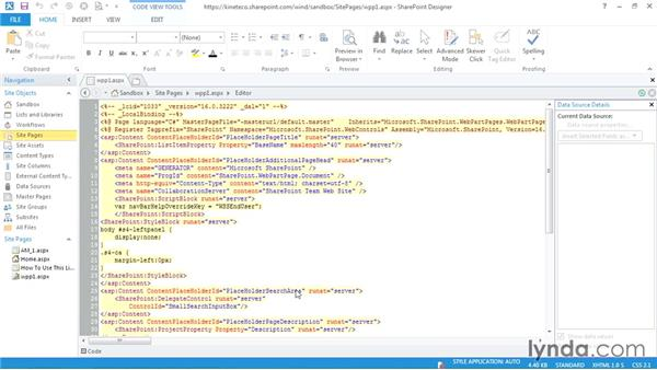 Creating a new page in SharePoint Designer: SharePoint Designer 2013: Creating Data-Driven Sites