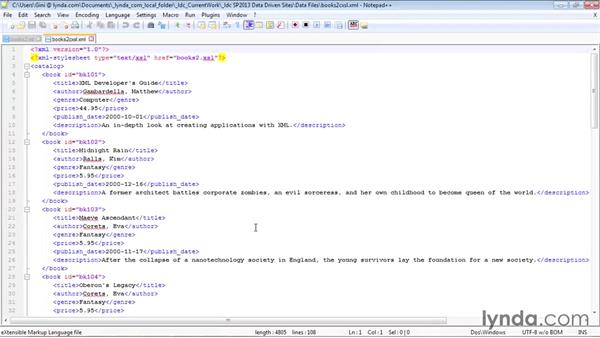 Using the XML Web Part: SharePoint Designer 2013: Creating Data-Driven Sites