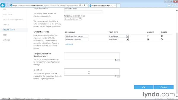Understanding the Secure Store Service: SharePoint Designer 2013: Creating Data-Driven Sites