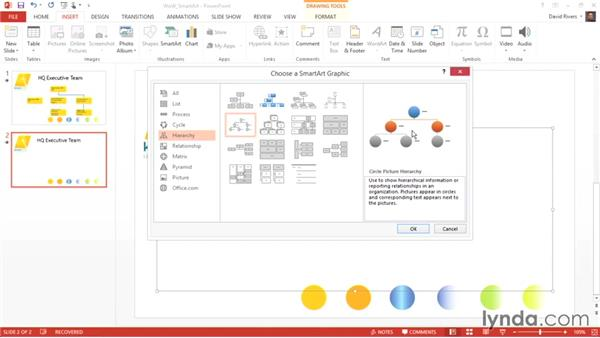 Using SmartArt graphics in PowerPoint: Weekly Office Workshop